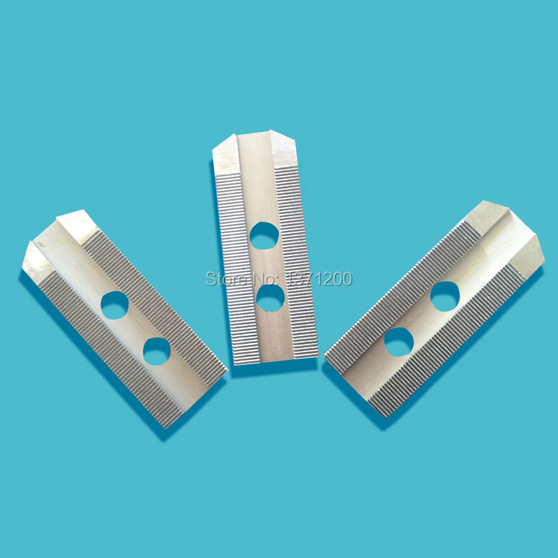 10 Soft Jaws 1 5mm 120 degree Serrated for B 210 Type Lathe Chucks