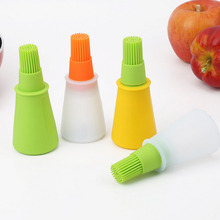 Portable Silicone Barbecue Oil Brush Baking Kitchen Oil Brush High Temperature Bakeware Tool E2S yingtouman portable oil