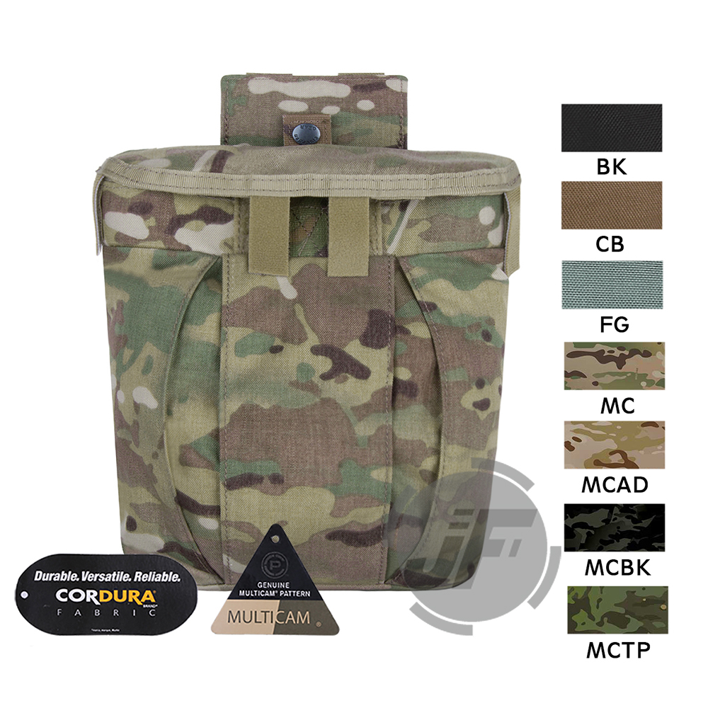 Emerson Tactical Duty Belt Pouch MOLLE PALS Drop-Hip Expandable Dump Mag Pouch Emersongear Magazine Stiff Opening Storage Bag