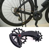 MTB Road Bicycle Bike Carbon Fiber Ceramic Rear Derailleur Pulley for R8000/R9100 6800/9000 Cycling Accessories