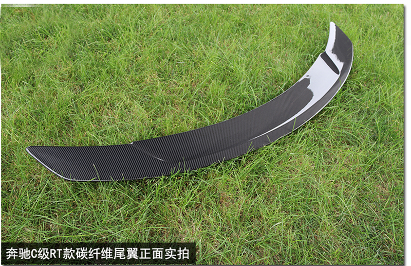 For Mercedes Benz CLA W117 CLA180 CLA200 CLA250 CLA260 CLA45 Carbon Fiber Rear Trunk Wing Spoiler RT Style 2014 UP in Spoilers Wings from Automobiles Motorcycles