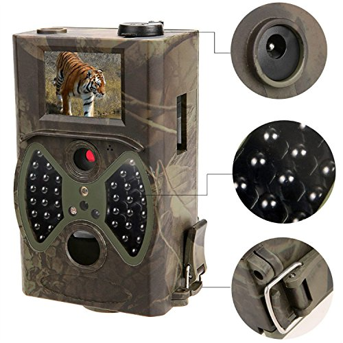 940nm Night Vision Camouflage font b Camera b font Trail Portable Hidden trap Cameras for Forest