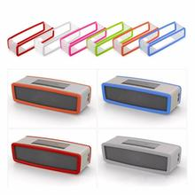 Portable Silicone Case for Bose SoundLink Mini 1 2 Sound Link I II Bluetooth Speaker Protector Cover Skin Box Speakers Pouch Bag