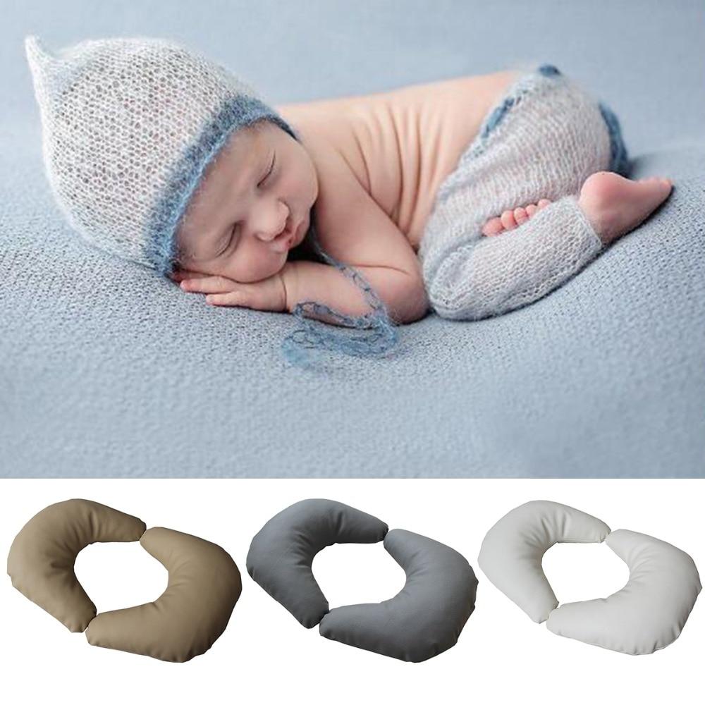 Newborn Photography Props Baby Posing Pillow Newborn Positioner Baby Cushion Pillow Infant Photography Accessories Studio Shot