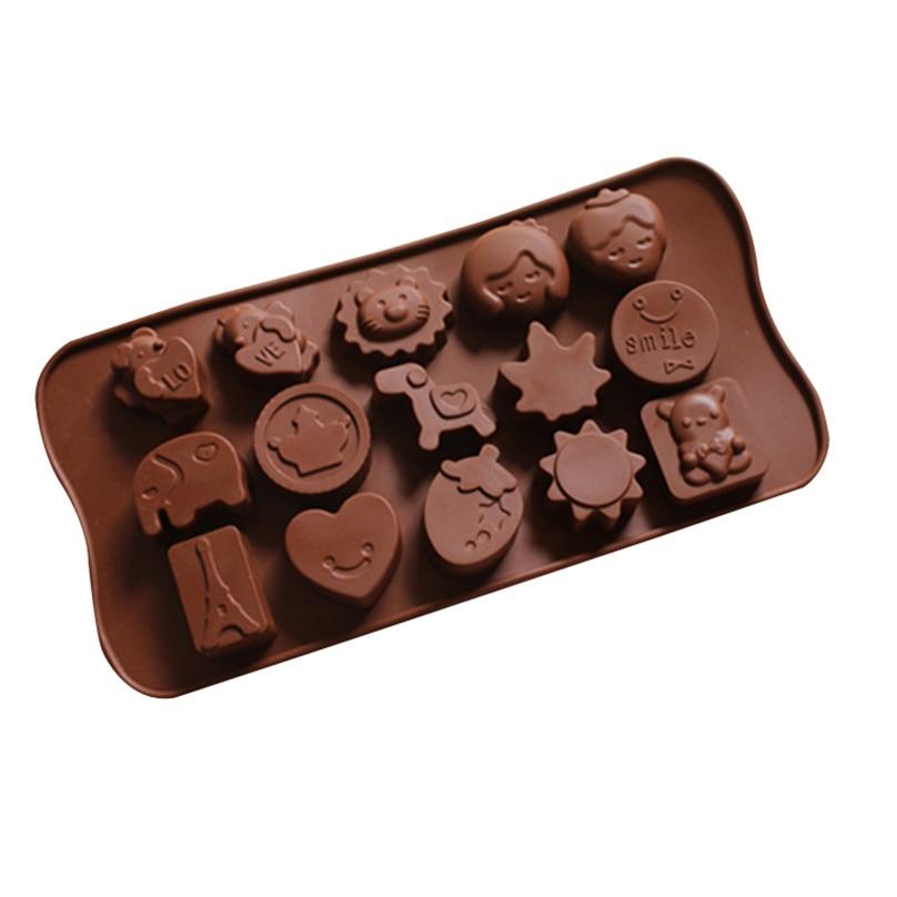 Kawaii diy leone sole cuore stampo cioccolato stampi in - Attrezzi da cucina per dolci ...