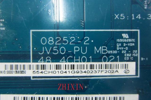 Yourui JV50-PU 48.4CH01.021 carte principale pour Acer aspire 5536 ordinateur portable carte mère Socket S1 DDR2 avec CPU gratuit MBP4201004 carte mère