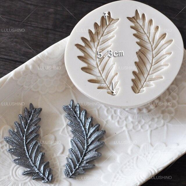 Yueyue sugarcraft leaf flower disegno del petalo della torta del silicone della