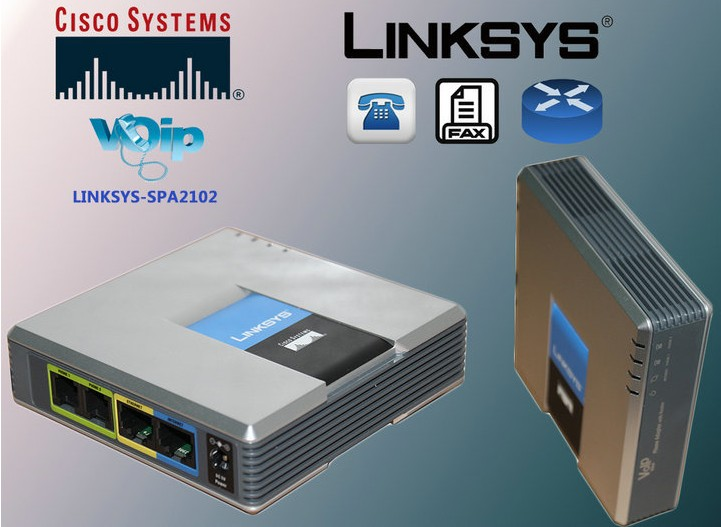 Linksys Stimme SIP IP VoIP SPA2102 Telefon-adapter Router Telefon Server Telefone Telefonia Telefon Adapter System