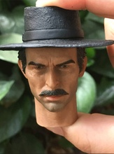 REDMAN Cowboy The Drifter Clint Eastwood 12 Head Sculpt loose 1/6th scale