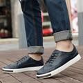 2016 новинка из натуральной кожи мужской обуви, Высокое качество мужчины свободного покроя обувь, Люксового бренда мужчин бизнес обувь EPP153