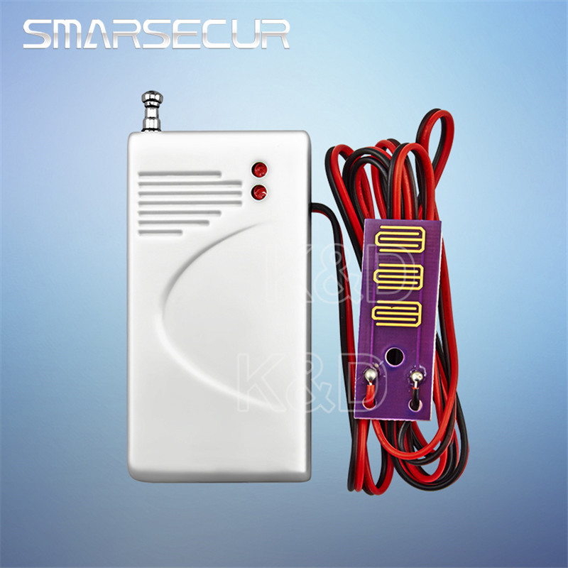 Wireless Water Intrusion Leakage Sensor Detector 433MHz For Alarm System Use 12V23A Battery recent advances in intrusion detection