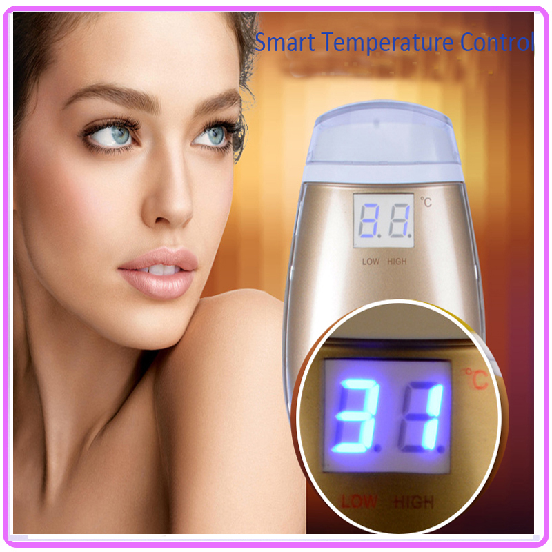 Smart Temperature Control Mini rf Radio Frequency Skin Tightening Face Lifting Rejuvenation Beauty Device Free Shipping mini portable usb rechargeable ems rf radio frequency skin stimulation lifting tightening led photon rejuvenation beauty device