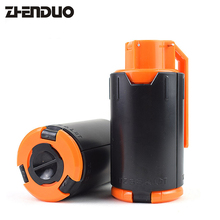 ZhenDuo Toys Tactical Plastic Gemodificeerde Crystal Water Beads Bomb Bullet Black + Orange Outdoor Free Shipping