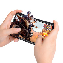 Pubg Game Gamepad Trigger Controller Mobile Case for IPhone X XS 7 8 6 6S Plus Phone Gaming Free Fire L1 R1 Joystick Accessories new mfi bluetooth wireless game controller joystick for iphone 5 6 6s plus wholesale