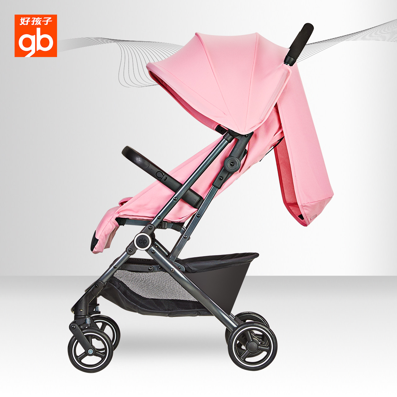 Baby Buggy Mercedes Goodbaby Brand Baby Stroller Safety Car Children Ultra Light
