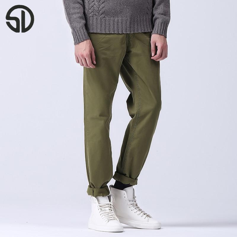 100% QualitäT Marke Neue Männer Cargo Hosen Einfache Stil Casual Einfach Waschen Männlichen Frühjahr Sommer Hosen Freies Verschiffen Art Und Weise Mens Casual Hosen