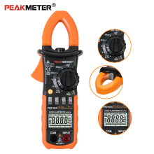 DC/AC High precision intelligent digital clamp meter 6600/4000 Counts Capacitance frequency Resistance Tester Multimeter цены