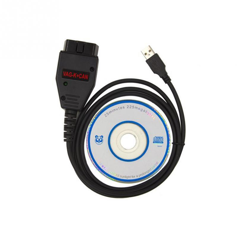 все цены на VAG K+CAN Commander 1.4 obd2 Diagnostic Scanner tool OBDII VAG 1.4 COM cable For vag scanner hot selling