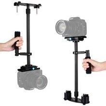 24″ Professional Portable Carbon Fiber Mini handheld Camera Stabilizer for DSLR Camcorder Video camera Steadicam For Canon Nikon