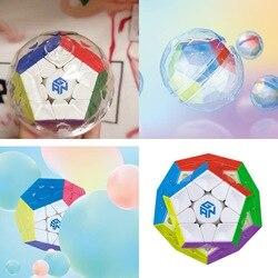 Gan Megaminxed Cubo Magico Cubi di Velocità Di Puzzle Giocattoli Educativi Rompicapo Per I Bambini
