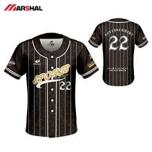 Бейсболка с дизайном на заказ, майки, сублимированная спортивная одежда, мужская спортивная рубашка, Camiseta Beisbol Hombre, дышащие бейсбольные рубашки