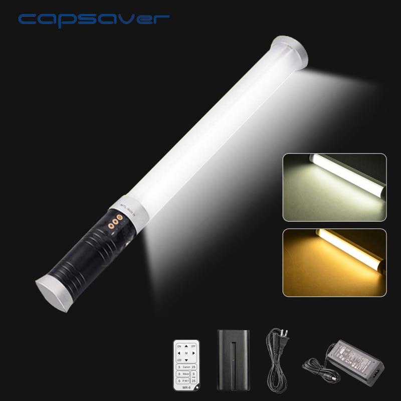 capsaver MTL 900II LED Video Light Photography Lighting Portable Photo Studio Light 298 LEDs 3200K 5600K