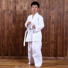 Fitness Clothes Sports Taekwondo Karate Athletic Wear Season Costume Children's Judo Sports Training Suit Karate Clothing цена