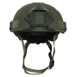 Casco balístico a prueba de balas rápido NIJ IIIA Aramid estándar para protección de seguridad de la Guardia de policía