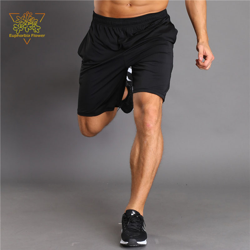 JSPD12019 Pantallona të shkurtra për burra 2 Rripa tërheqës xhepi - Veshje sportive dhe aksesorë sportive - Foto 1