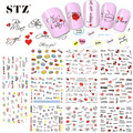 11 Design  NEW 2016 Valentine Decals Nail Art Sticker Decals Water Beauty Letter Love for Decor Polish DIY Tools BLE2524-2534