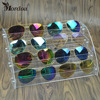 Promotion Makeup Cosmetic 4 Tiers Clear Acrylic Organizer Display Stand Holder Nail Polish Rack Glasses Lipstick