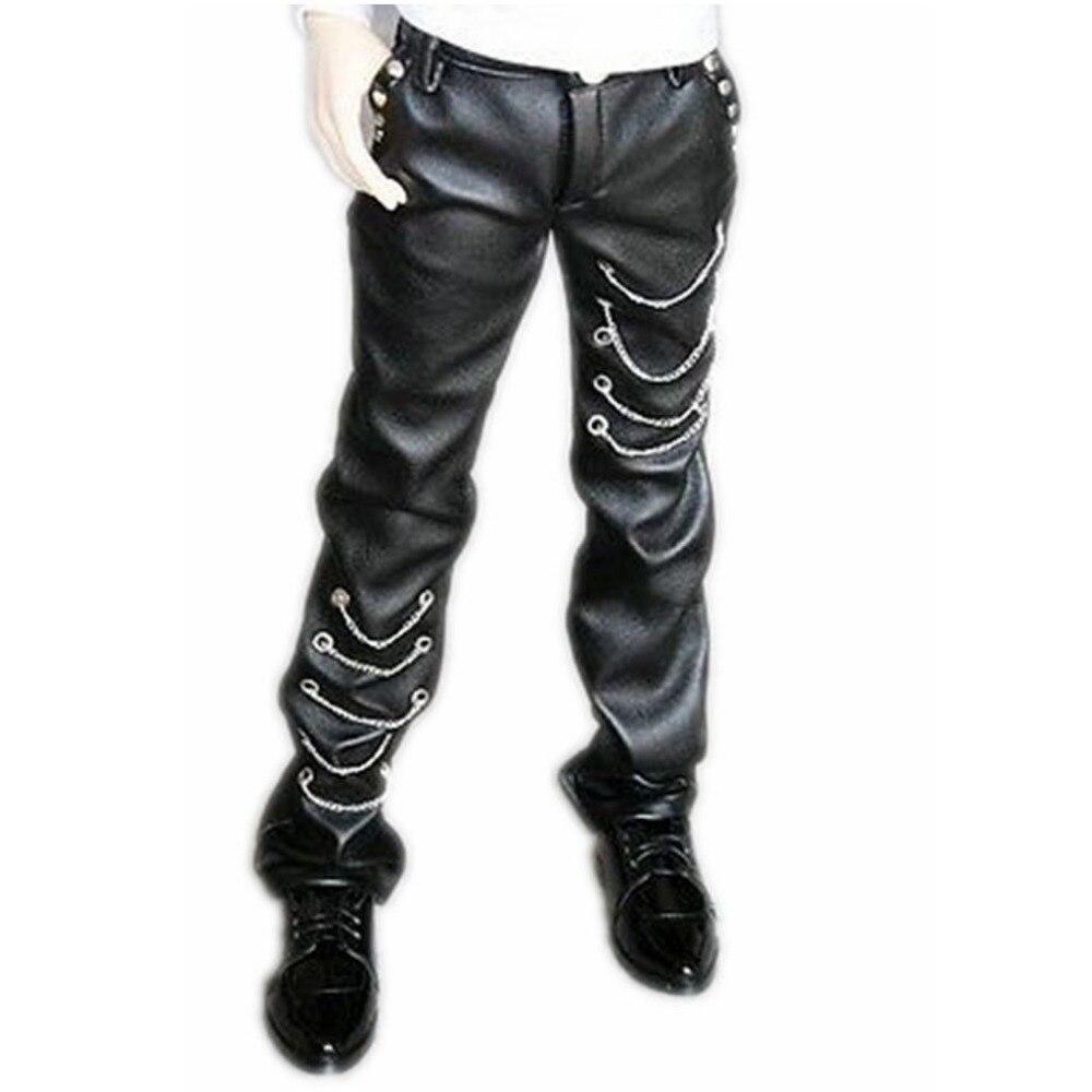 [wamami] 77 Black Leather Trousers/Pants 1/3 SD DZ AOD DOD BJD Dollfie