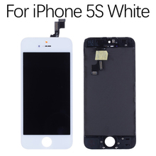 Display For iPhone 5S LCD Touch Screen Digitizer Replacement for 4 inch With Gift AAA Quality