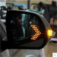 Светодиодный нагрева задняя сторона Включите сигнал синий кривизны против запотевания ослепительно зеркалом заднего вида для AUDI A4 A4L B8 B9 A6
