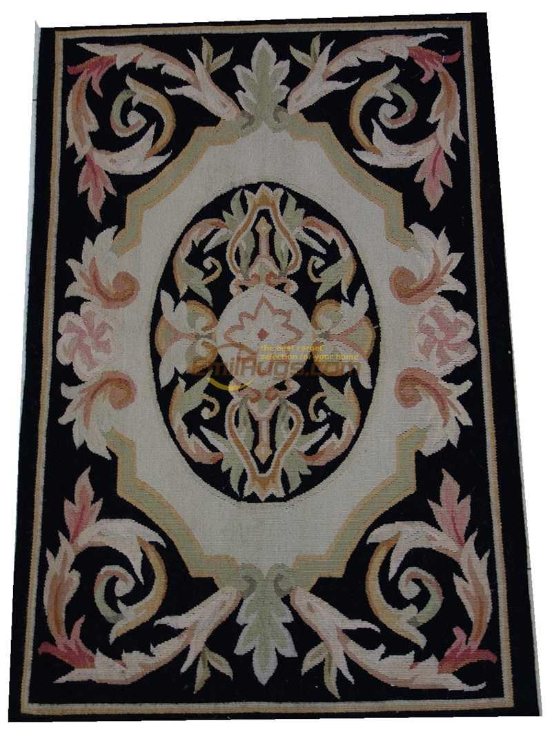 Home Decore Ethnic Style Wool Rug Carpet Antique Aubusson Style French Carpet Antique Aubusson French Hand Woven Wool Carpet Carpet Aliexpress