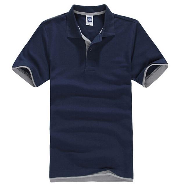 5de3e582567ec Nuevos hombres de la marca Polo para hombres desiger Polo hombres ropa de  algodón camisa de
