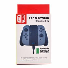 2sets 1000 Mah Battery Capacity for Nintend Switch NS  Power Bank  Controller Charger Stand with USB cable