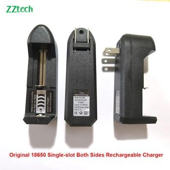 Original Single slot 3.7V E-cigarette charger 18650 18350 16340 14500 14000 Lithium Battery Charger Lithium ion 18650 Charger