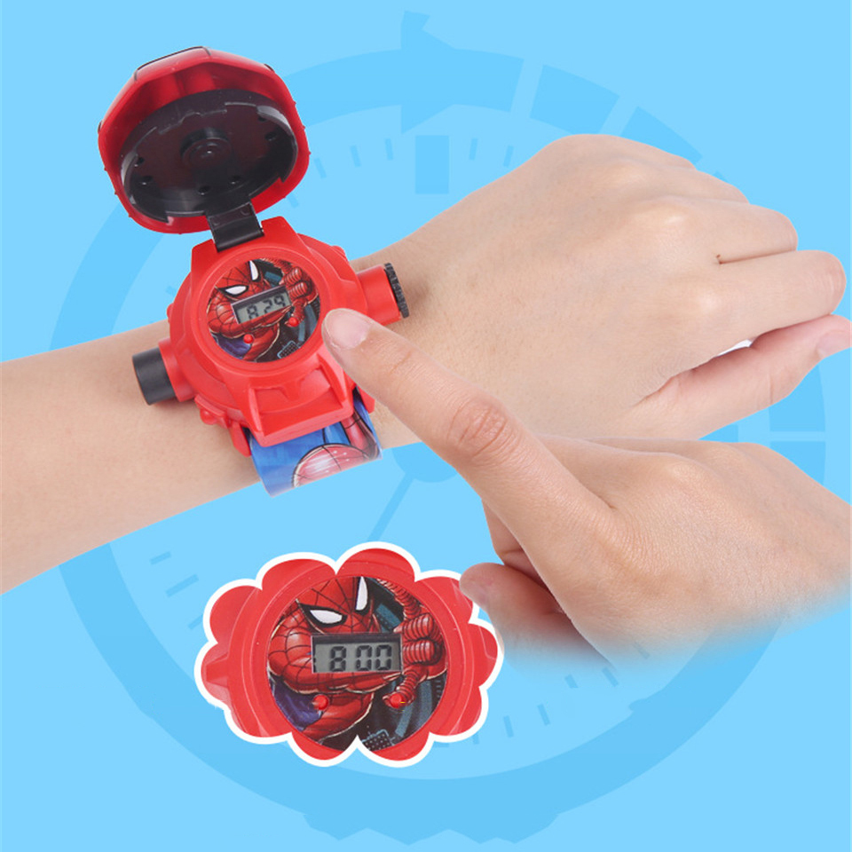 Hot Selling Children's Watch For Boy Girls 3d Projection Watches Kids Electronic Cartoon Boys Wristwatches Relogio Masculino #4