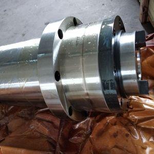 Image 2 - Шпиндельный шкив с ЧПУ bt40, синхронный шкив для фрезерного станка с ЧПУ, лепестковый зажим ATC + пружина диска + Тяговая планка для воздушного охлаждения