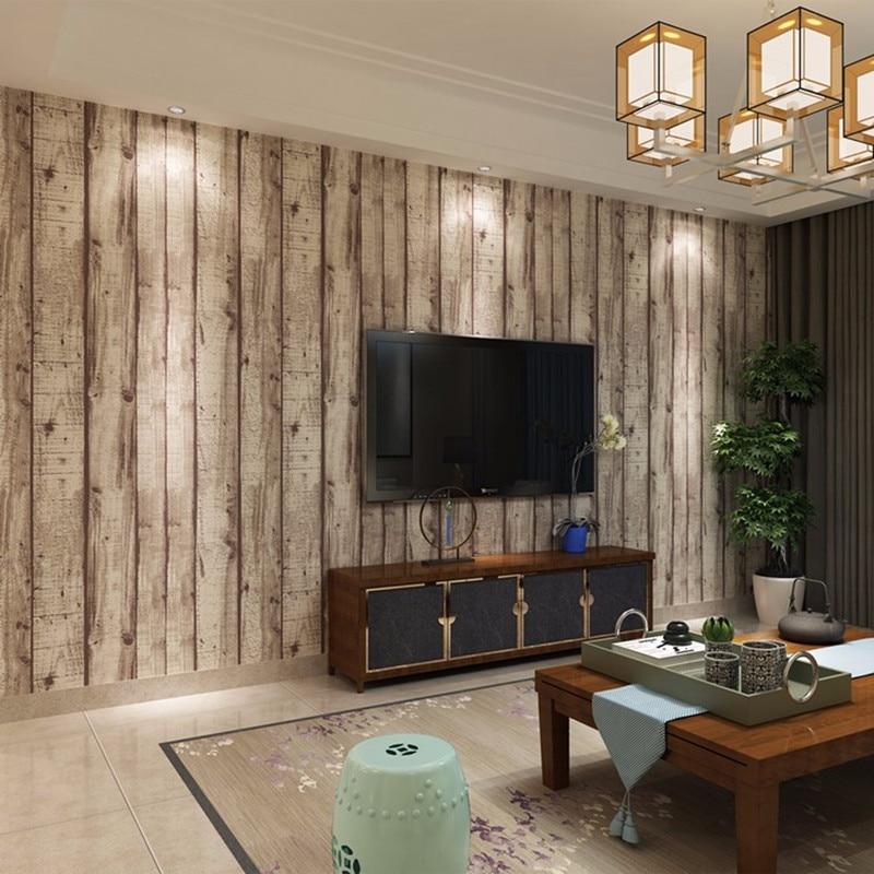 Wood Design Wallpaper for walls 3 D in rolls Home Decor ...