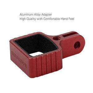 Image 3 - Metal Genleşme için Montaj Adaptörü DJI Osmo Cep 1/4 inç gopro adaptörü Spor kamera tripodu El Gimbal Aksesuarları