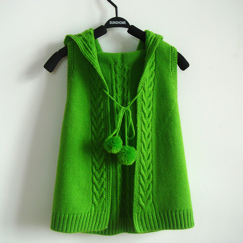 Baby Color Hand Knit Solid Sweater 75