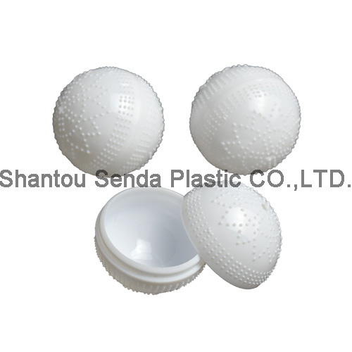 Free Shipping 100pcs Lot Pp Plastic Ball Shape Container
