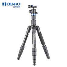 Berno New IF19 Aluminum Portable Tripod Kit Professional Travel Photography Removable With Head For Digital Camera