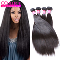 Hot 8A Kinky Straight Hair Weave Yaki Human Hair 4 Bundles Brazilian Kinky Straight Hair Weave Ccollege Hair Products On Sale