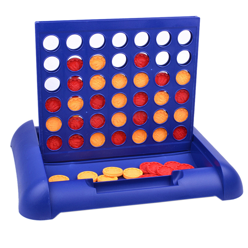 Sports Entertainment Connect 4 Game Childrens Educational Board Game Toys Gift for Kids Child
