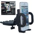 Универсальный 360 град. вращающийся смартфон регулируемая черный cd-лоток слот стенд автомобильный держатель телефона для мобильного телефона кронштейн выступает за