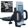 Slot de CD Universal 360 Graus de Giro Smart Phone Preto Ajustável Mount Suporte Suporte Do Telefone Do Carro Para O Telefone Móvel Bracket Stands