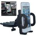 Universal 360 Grados de Rotación Móvil Ajustable Negro CD Slot Soporte Soportes de Montaje Del coche Del Soporte Del Teléfono Del Coche Soporte Para Teléfono Móvil